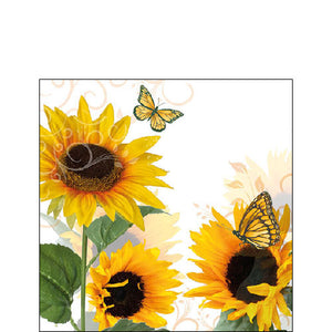Cocktail Napkin - Sunny Butterfly (Collection: 13310115)