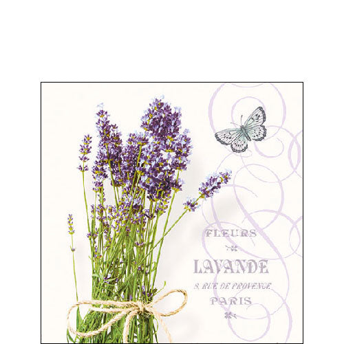 Cocktail Napkin - Bunch Of Lavender (Collection: 13311695) - COLLECTION