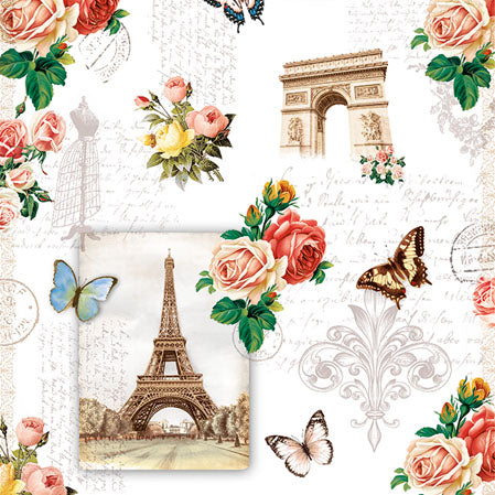 Cocktail Napkin - Paris Monuments (Collection: 13313040) - COLLECTION