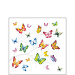 Cocktail Napkin - Colourful Butterflies (Collection: 13314230) - COLLECTION