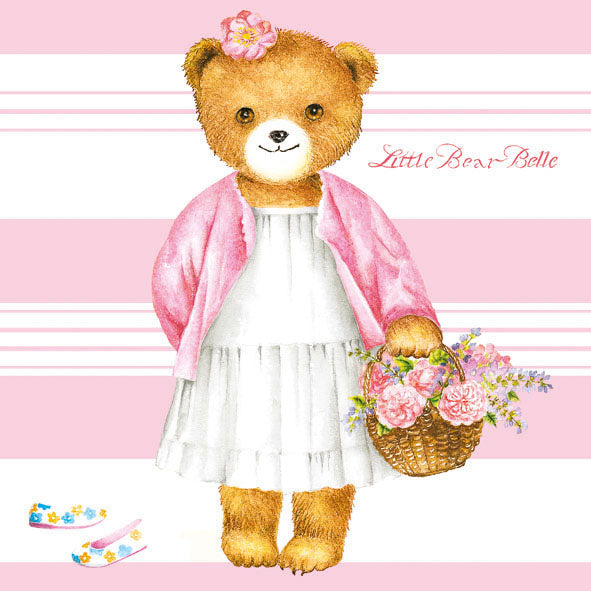 Lunch Napkin - LITTLE BEAR BELLE
