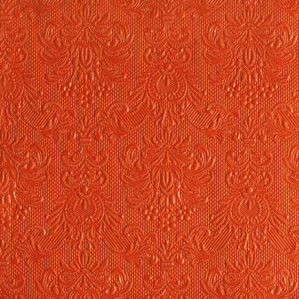 Lunch Napkin - Elegance ORANGE (Collection: 12505502 & 14005502 & 11105502)