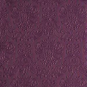 Lunch Napkin - Elegance AUBERGINE (Collection: 14005505)