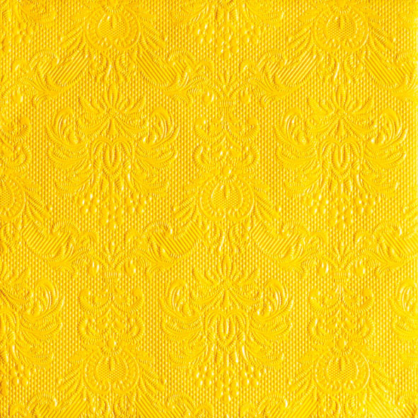 Lunch Napkin - Elegance YELLOW (Collection: 12505518 & 11105518)