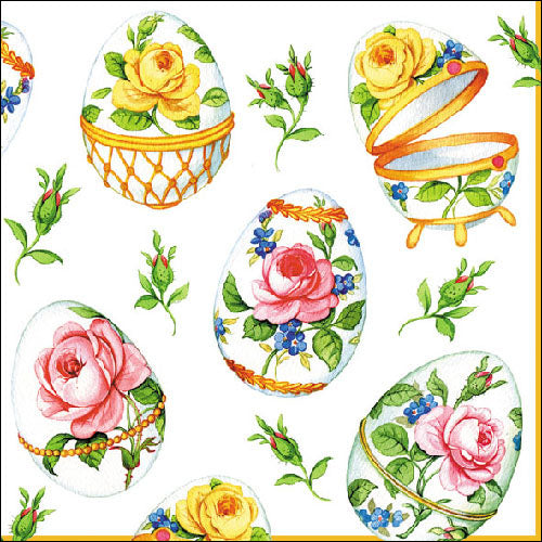 Load image into Gallery viewer, Lunch Napkin - SMALL ROSES