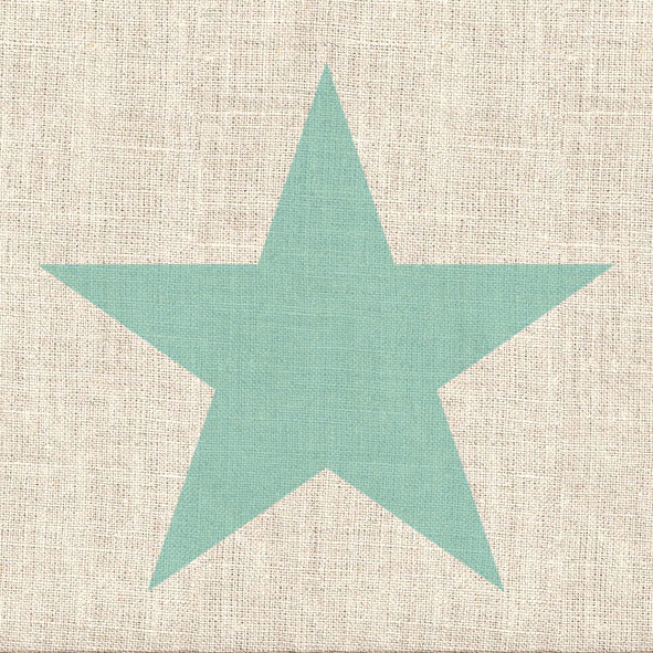 Load image into Gallery viewer, Lunch Napkin - Star Linen AQUA