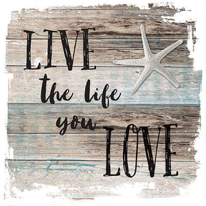 Lunch Napkin - Live The Life