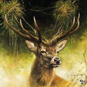 Lunch Napkin - Proud Deer - COLLECTION