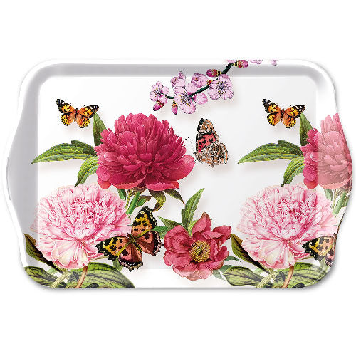 TRAY - Peonien WHITE (13 x 21 cm) - COLLECTION
