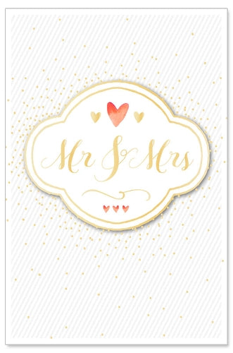 Load image into Gallery viewer, Greeting Card - Wedding (Mr. & Mrs.)