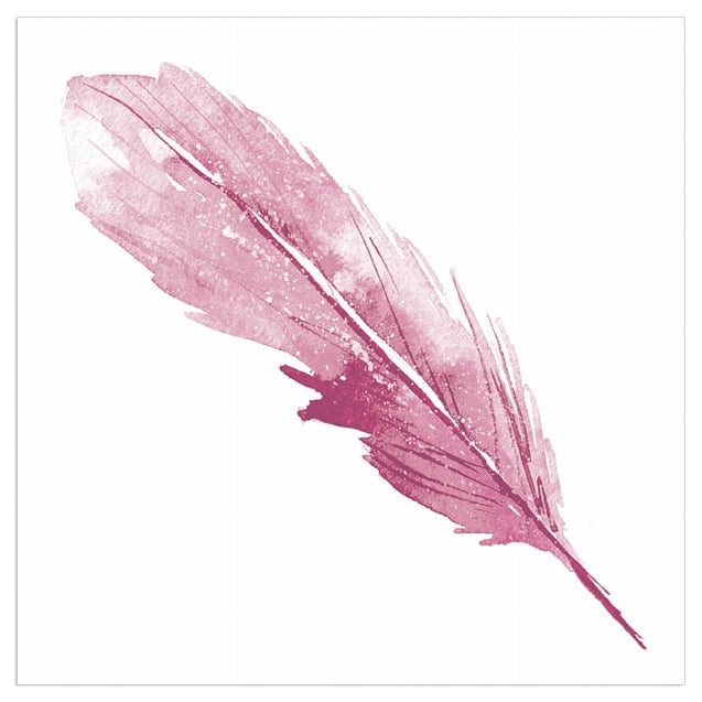 Lunch Napkin - Feather MAUVE