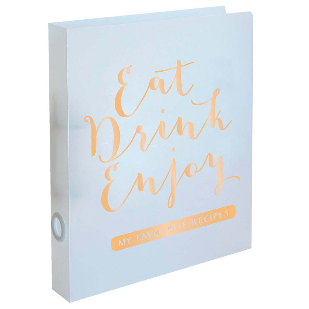 Recipe Folder - Eat Drink Enjoy