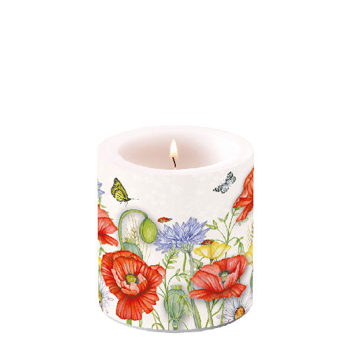 Candle SMALL - Summertime WHITE - COLLECTION