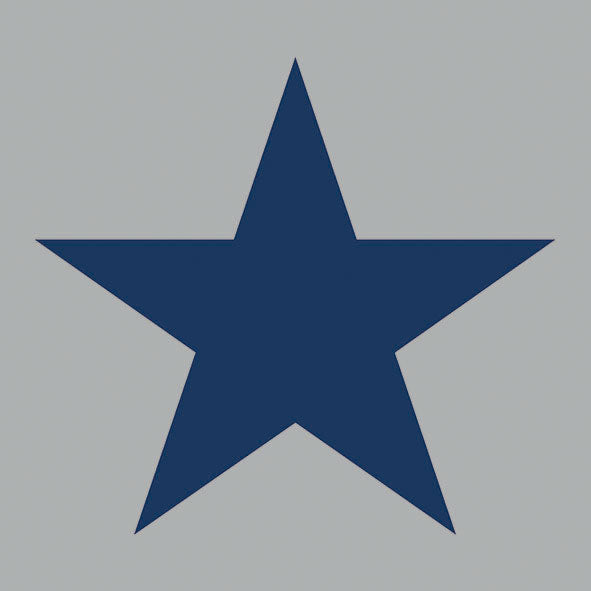Lunch Napkin - Star GREY/DARK BLUE