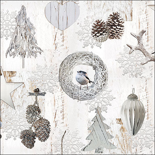 Lunch Napkin - White Decorations - COLLECTION