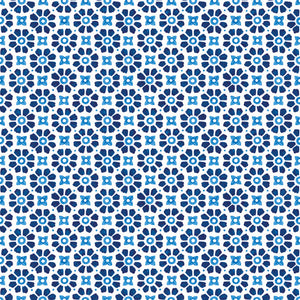 Lunch Napkin - Laureen BLUE