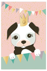 Greeting Card - Birthday (Princess Puppy)
