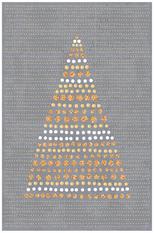 Greeting Card - Christmas (Glitter Tree)