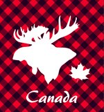 Lunch Napkin - Canada Moose