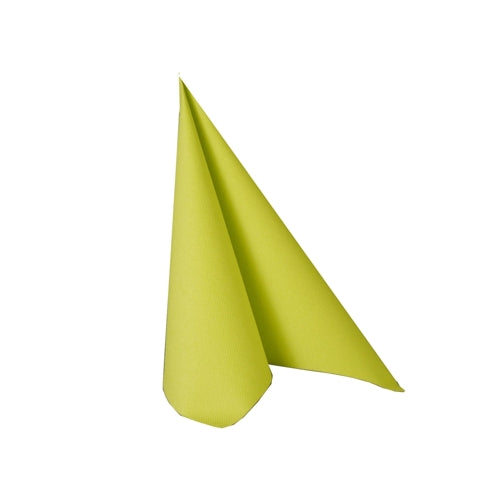 Cocktail Napkin - Uni LIME GREEN