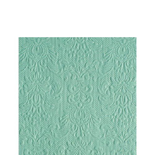 Cocktail Napkin - Elegance PALE AQUA (Collection: 13311110)