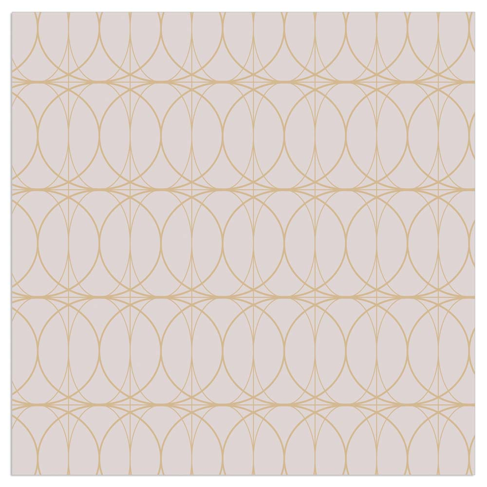Lunch Napkin - Modern Classy Pattern TAUPE