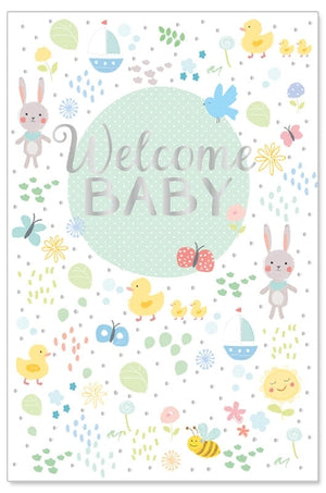 Load image into Gallery viewer, Greeting Card - Baby (Welcome Baby)