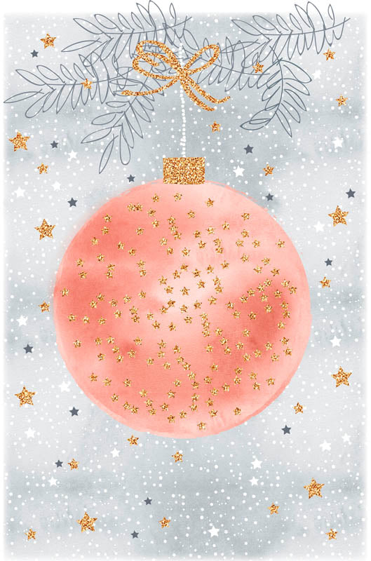 Greeting Card - Christmas (Ornament)