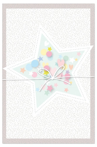 Greeting Card - All Occasions (Star with Confetti)
