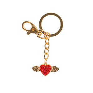Key Chain - Heart with Wings