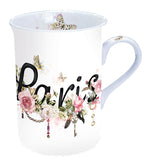 MUG (Fine Bone China) - Paris Collection (250 mL) - COLLECTION