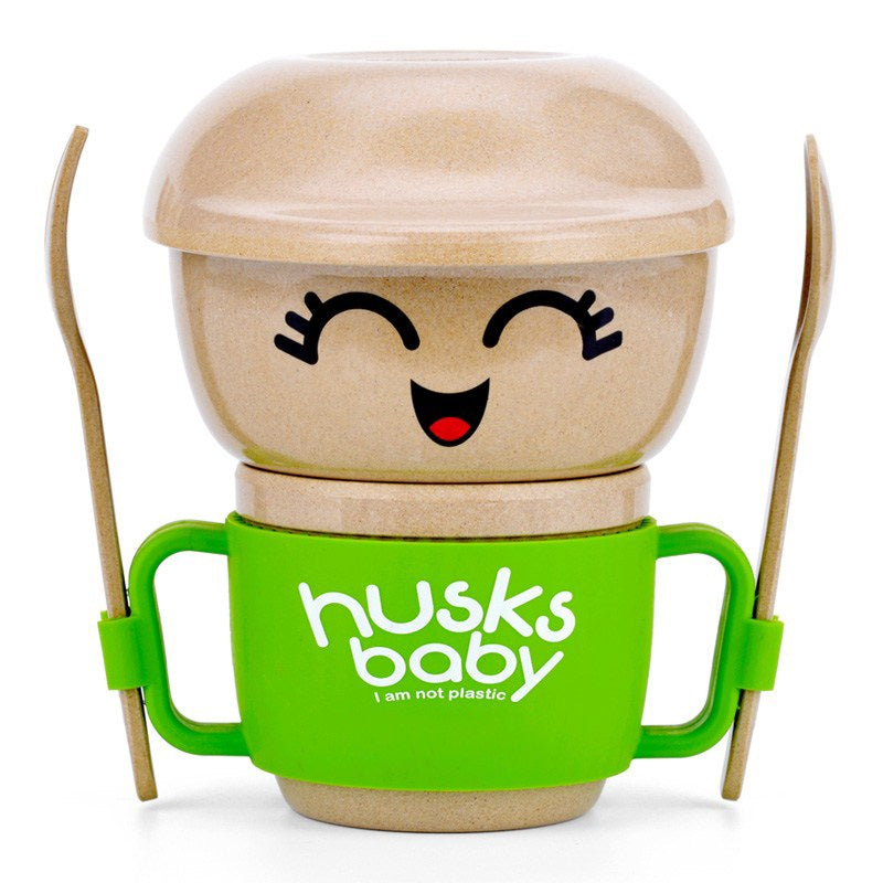 Rice Husk Collection - Husk Baby Mini Creative Collection GREEN (6 PC)