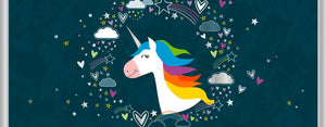Load image into Gallery viewer, Greeting Card LONG - Baby (Unicorn)