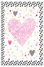 Greeting Card - All Occasions (Hearts 3D)
