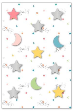 Greeting Card - Baby (Stars All Over)