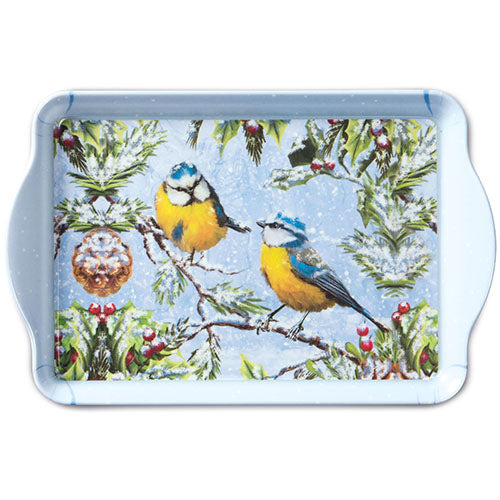 TRAY - Chirping Birds (15 x 23 cm) - COLLECTION