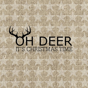 Lunch Napkin - Oh Deer GOLD