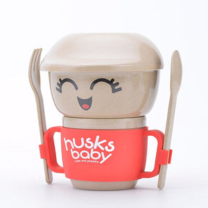 Rice Husk Collection - Husk Baby Mini Creative Collection RED (6 PC)
