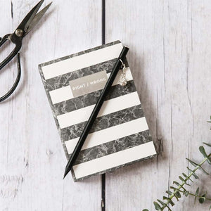 Notebook - Right / Wrong Stripes (A6)