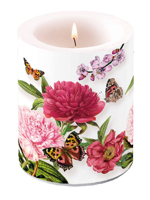 Candle LARGE - Peonien WHITE - COLLECTION