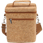 Beer Bag - 6 Bottle Insulated Tote Carrier - CORK