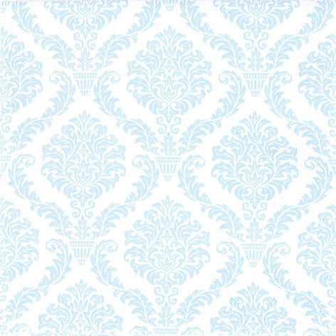 Cocktail Napkin - Elegant BLUE (Collection: LH611365 & DH0100-1365)