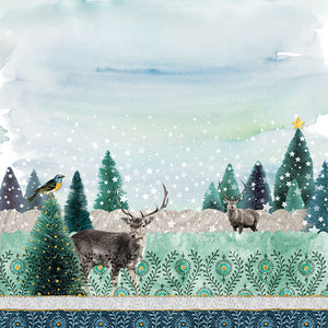 Lunch Napkin - Deer Winterscene (Collection: 32513440) - COLLECTION