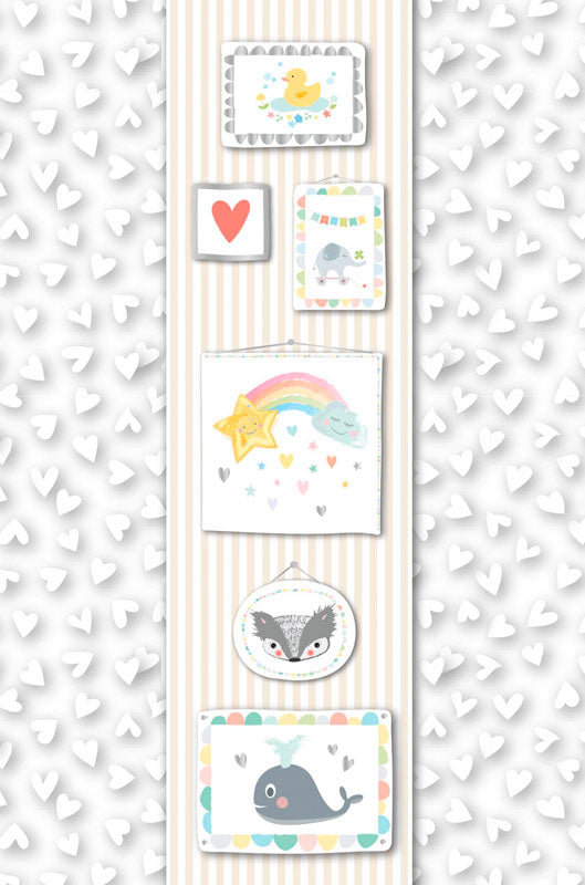 Greeting Card - Baby (Framed Icons)