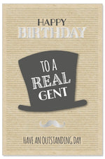 Greeting Card - Birthday (Top Hat)