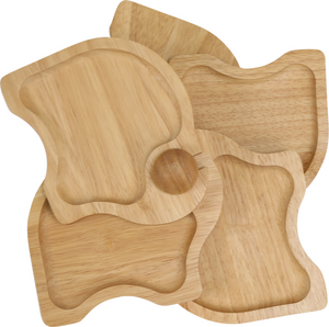 Load image into Gallery viewer, Wooden Appetizer Tray - ELEPHANT