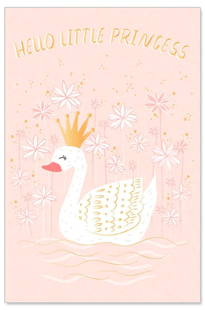 Greeting Card - Baby (Hello Little Princess)