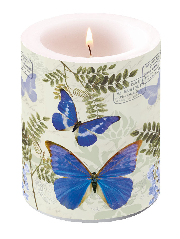 Candle LARGE - Blue Morpho - COLLECTION