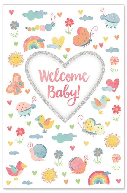 Greeting Card - Baby (Spring Time)