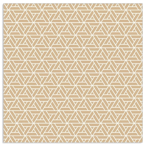 Load image into Gallery viewer, Lunch Napkin - Geo Pattern GOLD